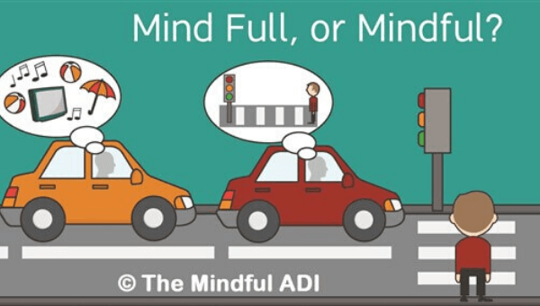 mindfulness to mentally prepare for driving test