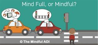 Mindful while driving